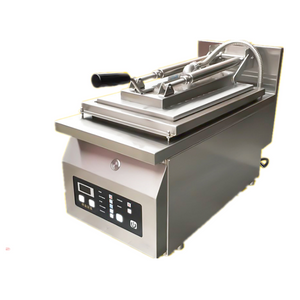 automatic dumpling fryer machine/ gyoza frying griller machine