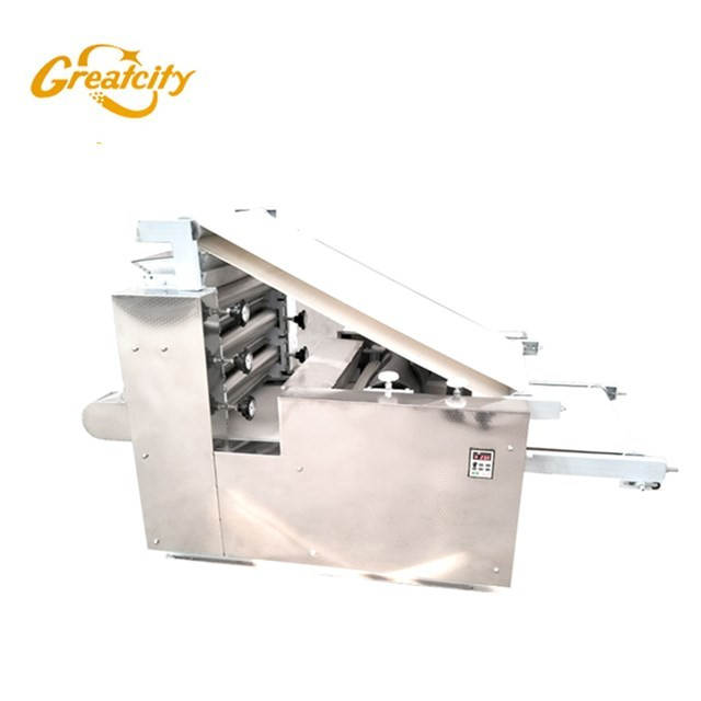 Dumpling wrapper skin making machine